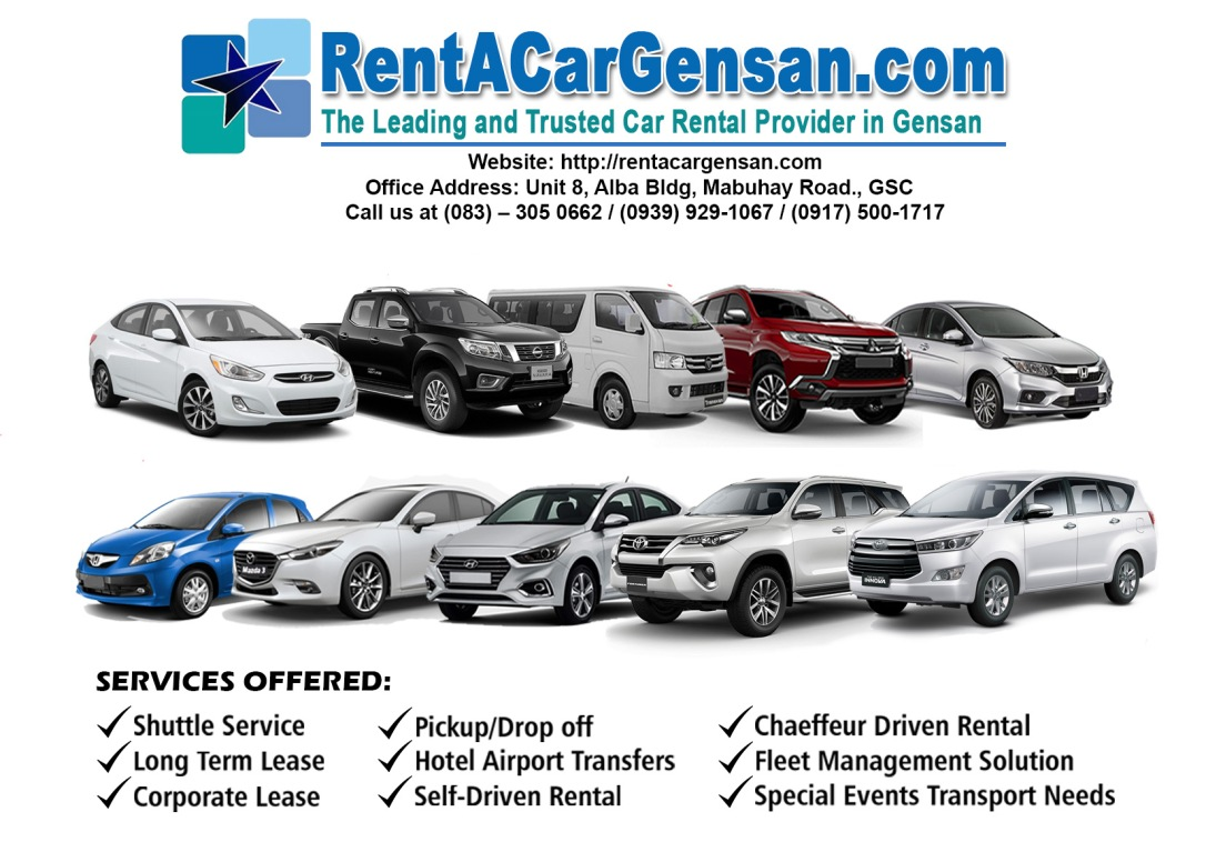 Rent A Car Marketing Material
